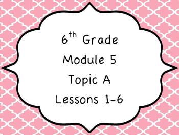 Engage NY Math 6, Module 5 Mega Bundle