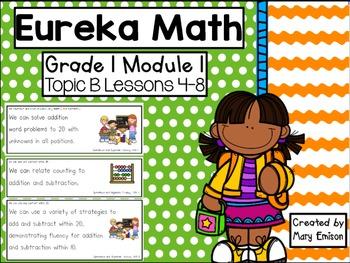 Eureka Math Flipchart (Module 1 Topic B)