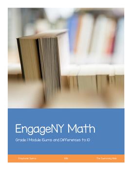 Eureka Math/ Engage NY Math Grade 1 Module 1 Application Problems