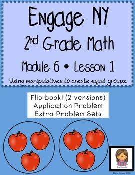 Engage NY Math 2nd Grade Module 6 Lesson 1: Creating Equal