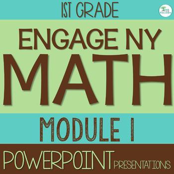 Engage NY Math SMART Board 1st Grade Module 1 ENTIRE MODUL