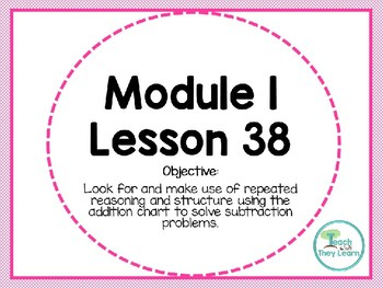 Engage NY Math SMART Board 1st Grade Module 1 Lesson 38