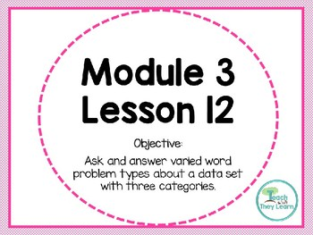 Engage NY Math Smart Board 1st Grade Module 3 Lesson 12