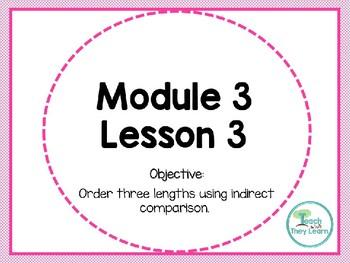 Engage NY Math Smart Board 1st Grade Module 3 Lesson 3