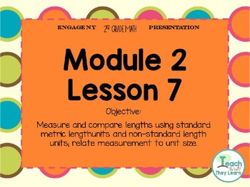 Engage NY  Math Smart Board 2nd Grade Module 2 Lesson 7
