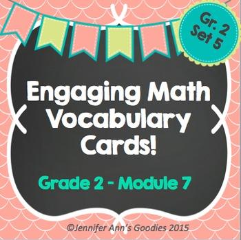 Engaging Math Vocabulary Cards 2.7