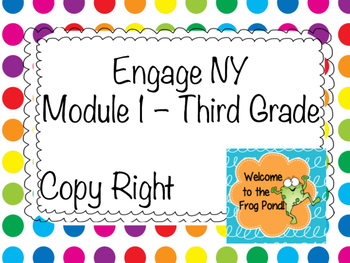 Engage NY Module 1 Grade 3