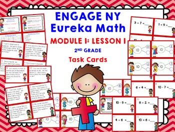 Engage NY Eureka Math Module 1 Lesson 1 - Math Centers - T