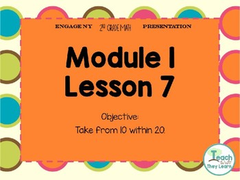 Engage NY Math Smart Board 2nd Grade Module 1 Lesson 7