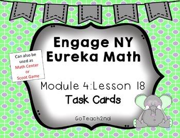 Engage NY Eureka Math Module 4 Lesson 18 - Math Centers -T