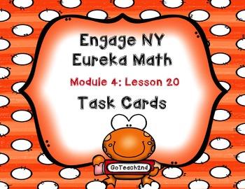 Engage NY Eureka Math Module 4 Lesson 20 - Math Centers -T