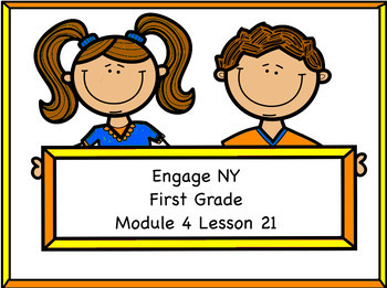 Engage NY Module 4 Lesson 21