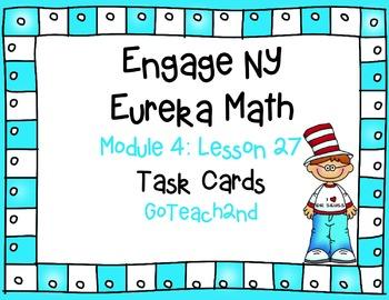 Engage NY Eureka Math Module 4 Lesson 27 - Math Centers -