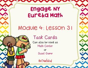 Engage NY  Eureka Math Module 4 Lesson 31 Math Centers - T