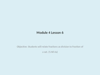 Engage NY Module 4 Lesson 6 (Math) for Fifth Grade