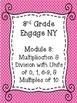 Engage NY Math Module Cover Sheets {3rd Grade}