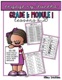 Engage NY Practice Pages- Grade 1, Module 1, Lessons 16-20