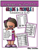 Engage NY Practice Pages- Grade 1, Module 1, Lessons 6-10