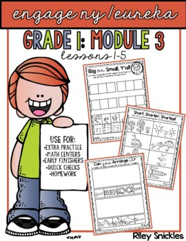 Engage NY Practice Pages- Grade 1, Module 3: Lessons 1-5