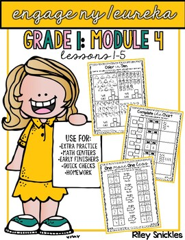 Engage NY Practice Pages- Grade 1, Module 4: Lessons 1-5