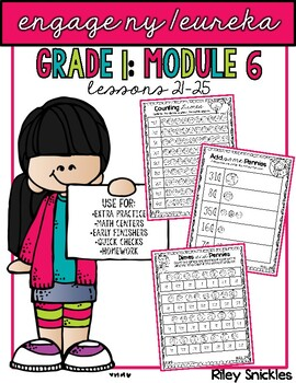 Engage NY Practice Pages- Grade 1, Module 6: Lessons 21-25