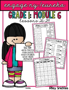 Engage NY Practice Pages- Grade 1, Module 6: Lessons 26-29