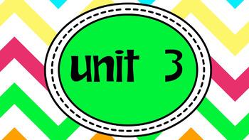 Engage NY Skills 2nd Grade Unit 3 Bundle