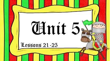 Engage NY Skills Unit 5 Lessons 21 - 25