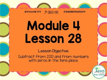 Engage NY Smart Board 2nd Grade Module 4 Lesson 28