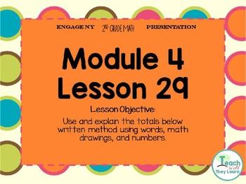 Engage NY Smart Board 2nd Grade Module 4 Lesson 29