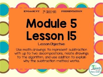 Engage NY Smart Board 2nd Grade Module 5 Lesson 15