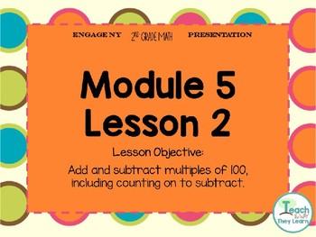 Engage NY Smart Board 2nd Grade Module 5 Lesson 2