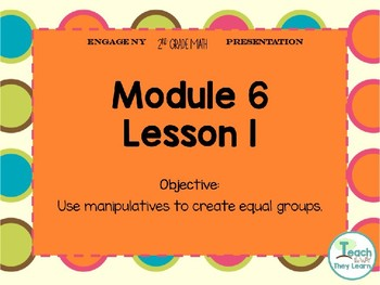 Engage NY Smart Board 2nd Grade Module 6 Lesson 1