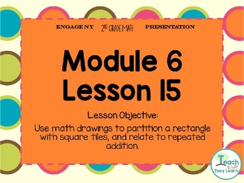 Engage NY Smart Board 2nd Grade Module 6 Lesson 15
