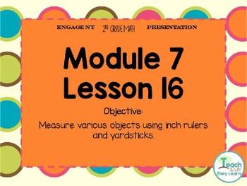 Engage NY Smart Board 2nd Grade Module 7 Lesson 16