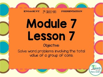 Engage NY Smart Board 2nd Grade Module 7 Lesson 7