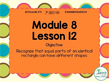 Engage NY Smart Board 2nd Grade Module 8 Lesson 12