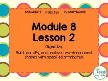 Engage NY Smart Board 2nd Grade Module 8 Lesson 2