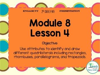 Engage NY Smart Board 2nd Grade Module 8 Lesson 4