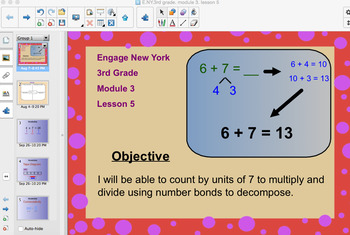 Engage New York 3rd Grade, Module 3, Lesson 5