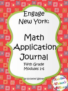 Engage New York / Eureka Application Problems Fifth Grade