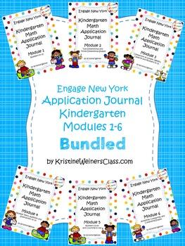 Engage New York / Eureka Application Problems Kindergarten
