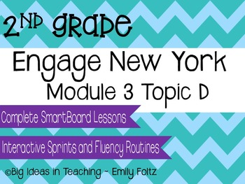 Engage New York Eureka Math 2nd Grade Module 3 Topic D Sma