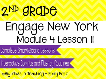 Engage New York Eureka Math 2nd Grade Module 4 Lesson 11 S