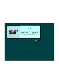 Engage New York & Eureka Math Grade 1 Module 2 BUNDLE