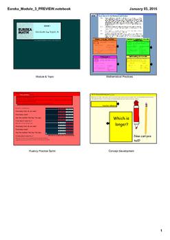 Engage New York & Eureka Math Grade 1 Module 3 BUNDLE
