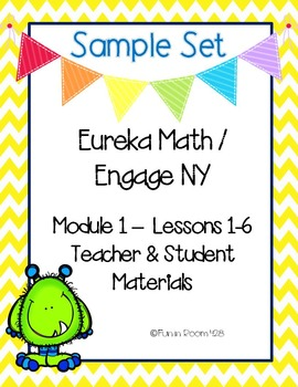 Engage New York / Eureka Math Mod 1 Lessons 1-6 Materials