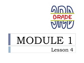 Engage New York Grade 3 Math Module 1 All 21 Lessons ENY 3rd