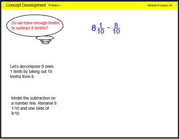 Engage New York Math Grade 4 Module 5 Lesson 34 Smart Note