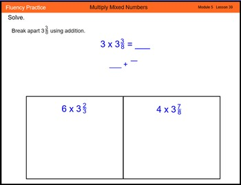 Engage New York Math Grade 4 Module 5 Lesson 39 Smart Note